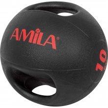 Amila Dual Handle Medicine Ball 10kg 84674