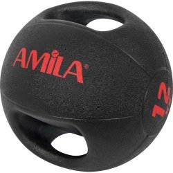 Amila Dual Handle Medicine Ball 12kg 84675