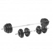 Insportline Σετ με Βάρη Μπάρα και αλτήρες 50kg BS208