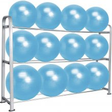 Amila Gym Ball Rack 12 μπάλες 43947