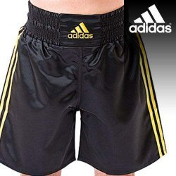 Boxing Trunk Adidas MULTI Black Gold - ADISMB01