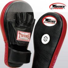 Focus Coaching Mitt Oval Twins Leather Pair