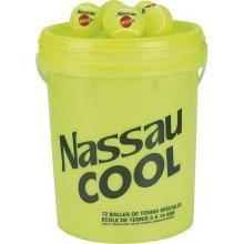 Nassau Cool Μπαλάκια Tennis  72τμχ