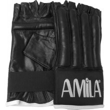 Amila  Γάντια Σάκου Δέρμα Μισά